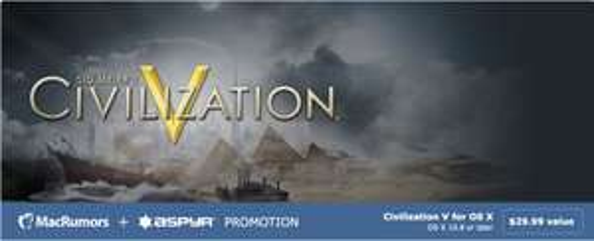 Sid Meier's Civilization V: Campaign Edition (Mac) za DARMO @ MacRumors