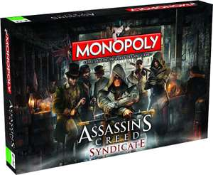 Monopoly Assassin's Creed Syndicate za 86,99zł @ Merlin