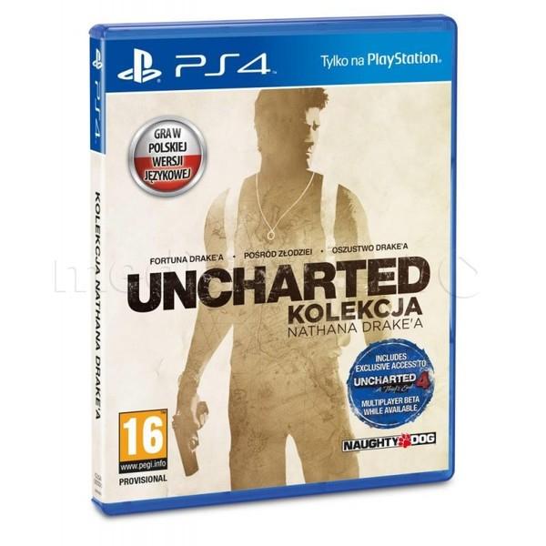 Uncharted: Kolekcja Nathana Drake'a + inne tytuły (PS4) @Merlin.pl , @cdp.pl , @Mediaexpert.pl , @Avans.pl , @Electro.pl