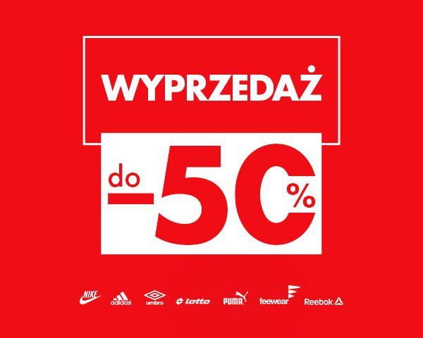 Wyprzedaż do -50% w 50style.pl