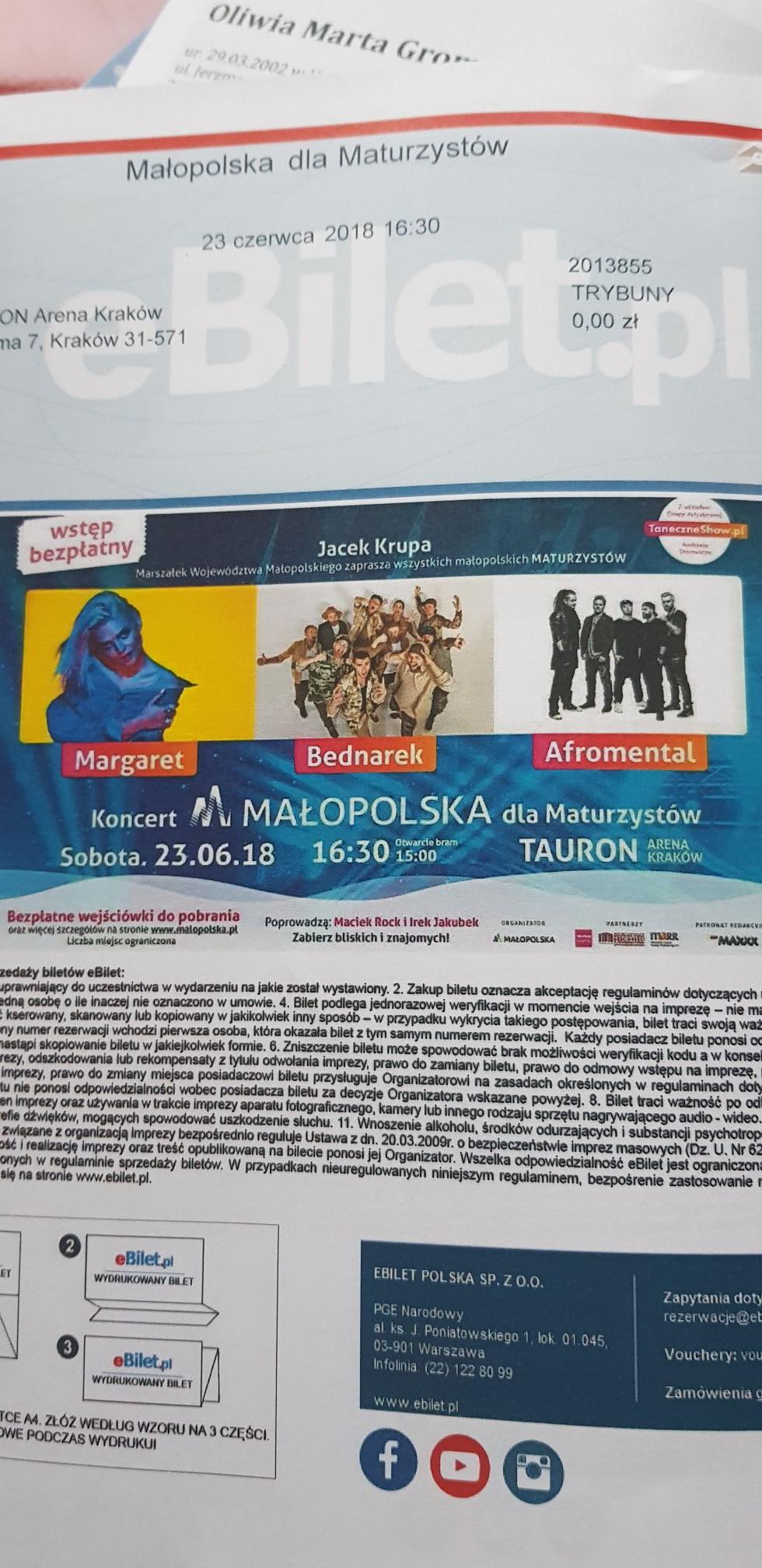 Bednarek, Margaret, Afromental. 23.06 Kraków ZA DARMO