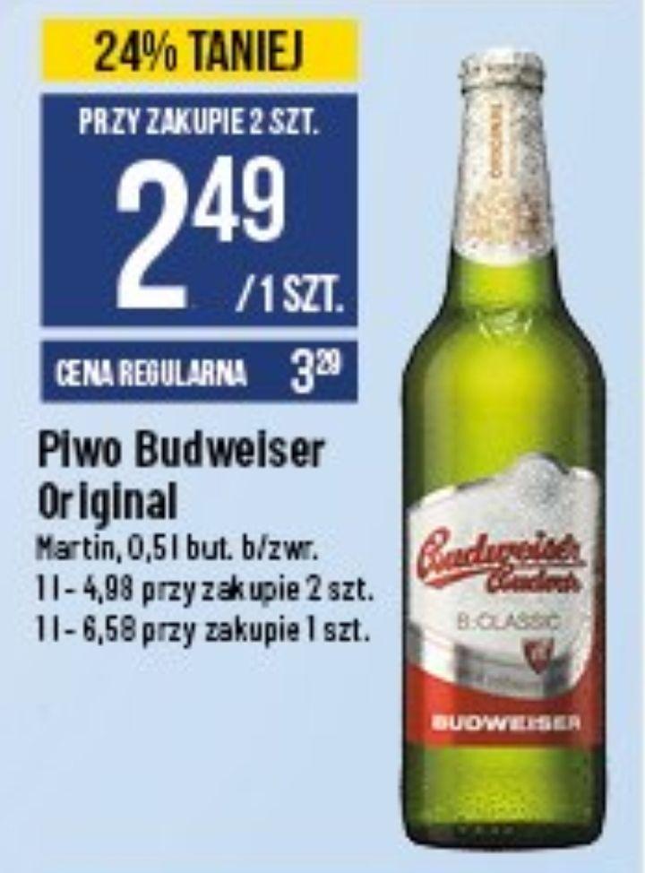 2x piwo Budweiser Original i Classic (2,49 zł za 1) @ POLOmarket