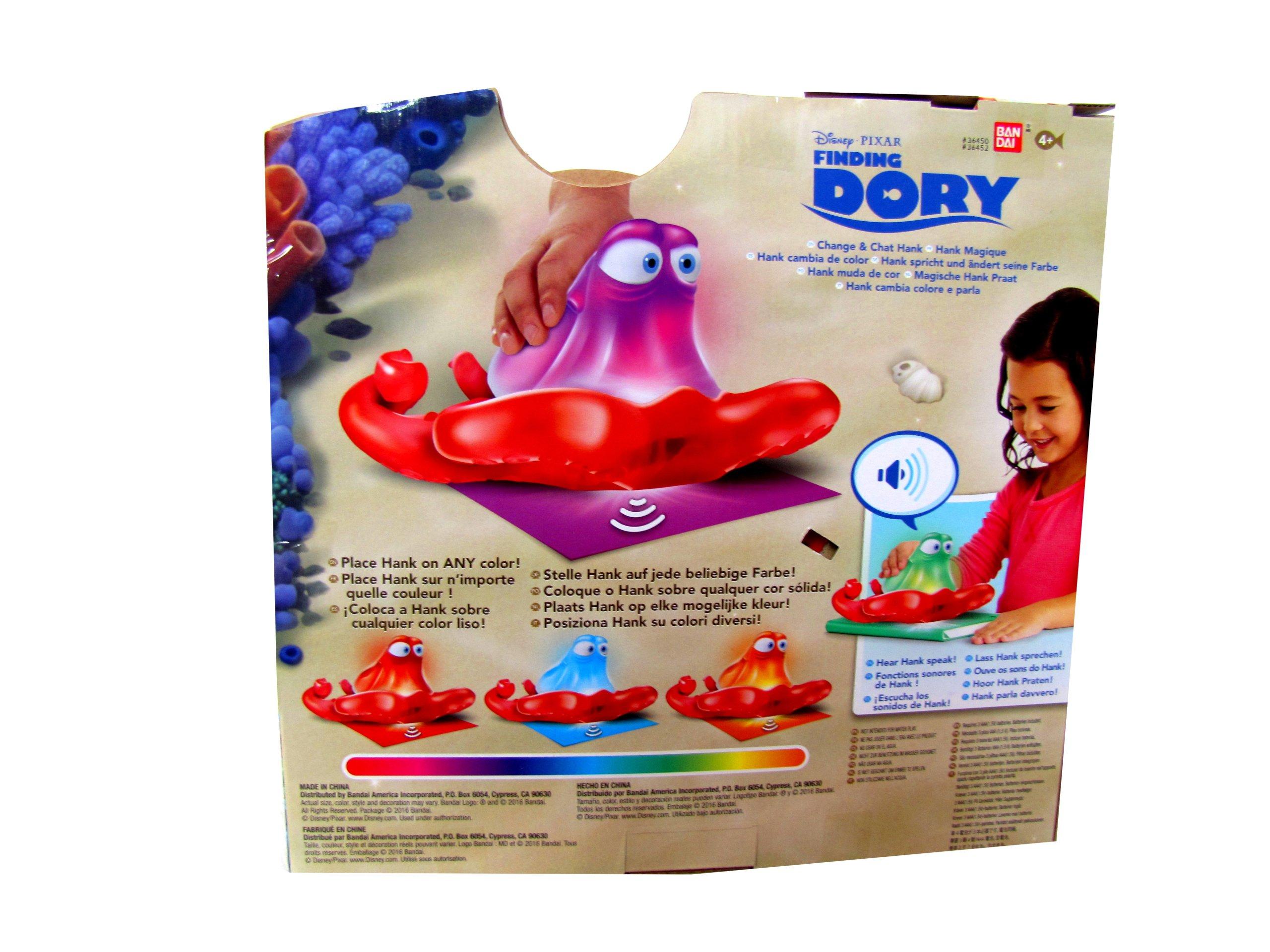 Zabawka W. Disney- Hank zmieniający kolory
