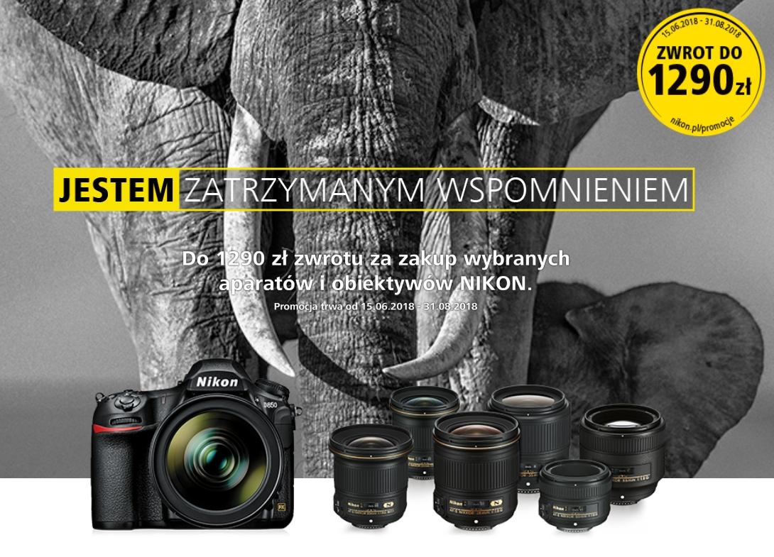 """Nikon cashback """"JESTEM ZATRZYMANYM WSPOMNIENIEM"""""""
