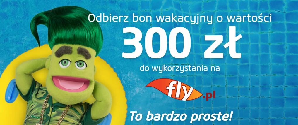 300 zł do zgarnięcia na fly.pl poprzez darmową pożyczkę w Vivus.