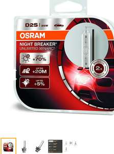 OSRAM S2 S3 35W XENARC® NIGHT BREAKER® UNLIMITED komplet 2szt.