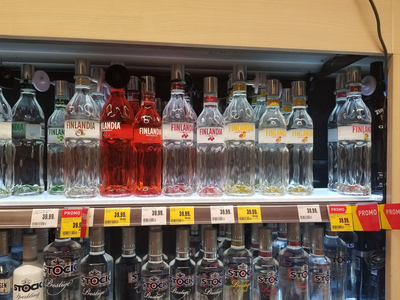 Wódka Finlandia smakowa 0,7L @Intermarche