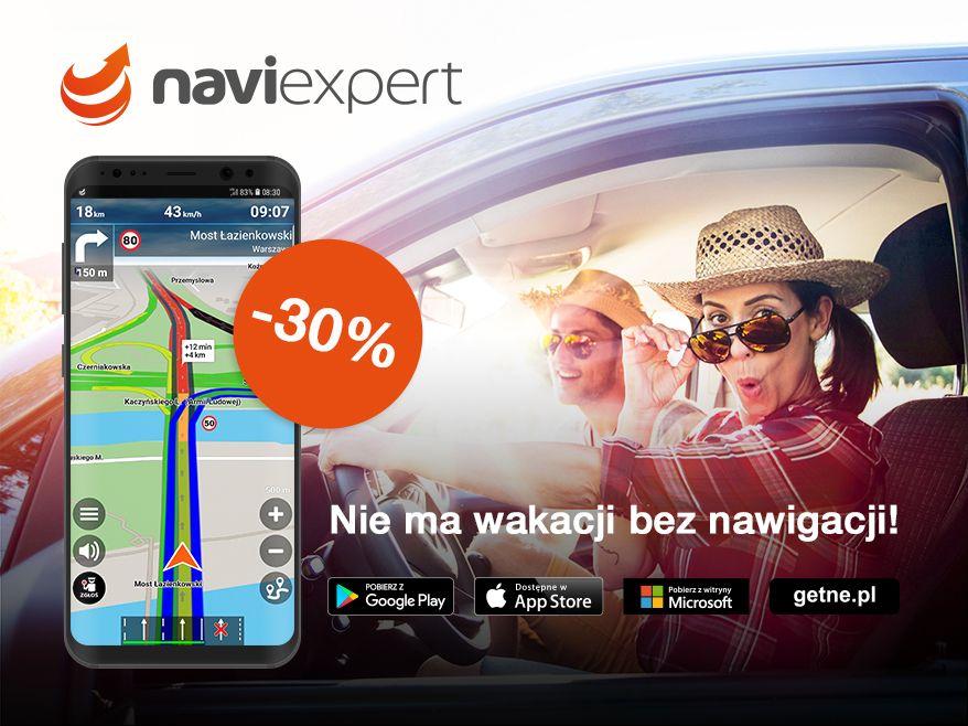 NaviExpert 30% taniej na wakacje