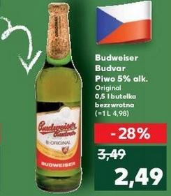 Piwo Budweiser Original @ Kaufland