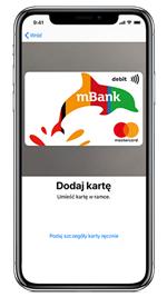 20zł za darmo za dwie płatności Apple Pay w mBanku