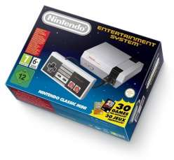 Nintendo Classic Mini - NES z 30 grami za 269zł @ Komputronik
