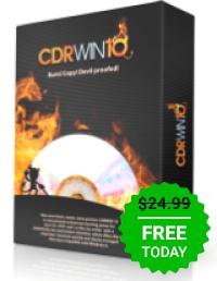 CDRWIN 10 za Free