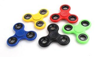 Roller Spinner, zabawka magiczna Fidget Spinner, zielony