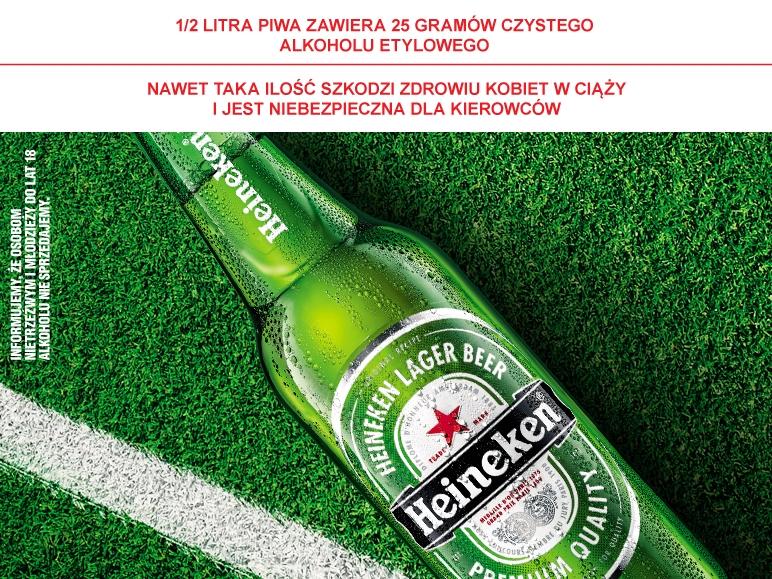 Piwo Heineken 500 ml za 2,69 zł @ Lidl