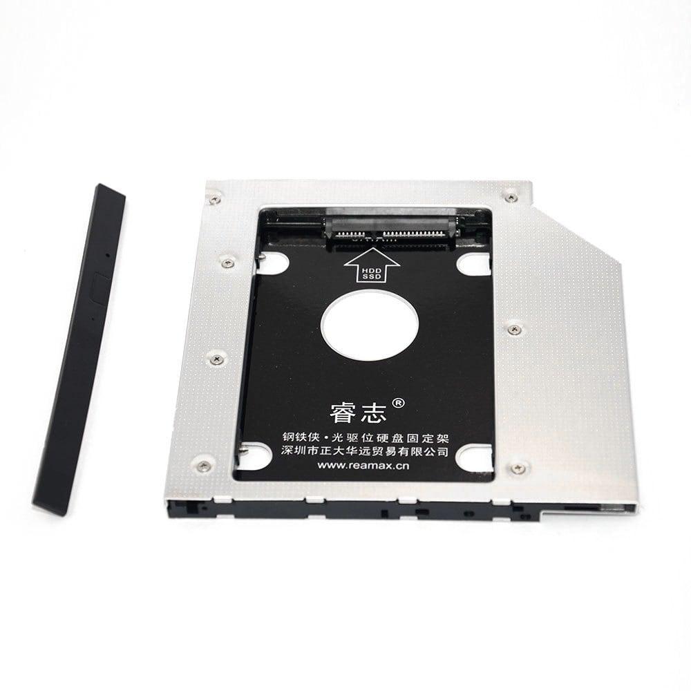 Slot na dysk 2.5 cala HDD / SSD w miejsce napędu dvd do laptopa