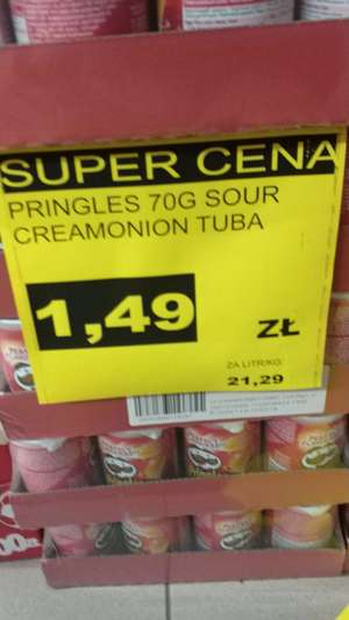 (ogólnokrakowska) Pringles 70g Mix smaków