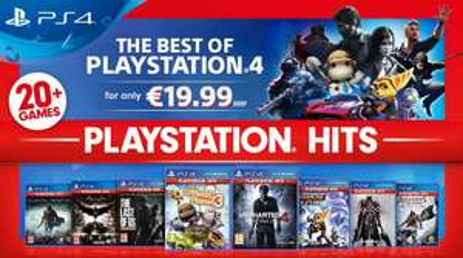 Playstation hits - pełna lista gier
