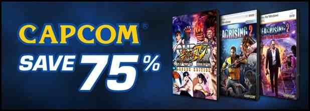 przecena gier Capcomu (Resident Evil, Lost Planet, Devil May Cry, Street Fighter) od 50% do 75%! (X360) @ Xbox Marketplace