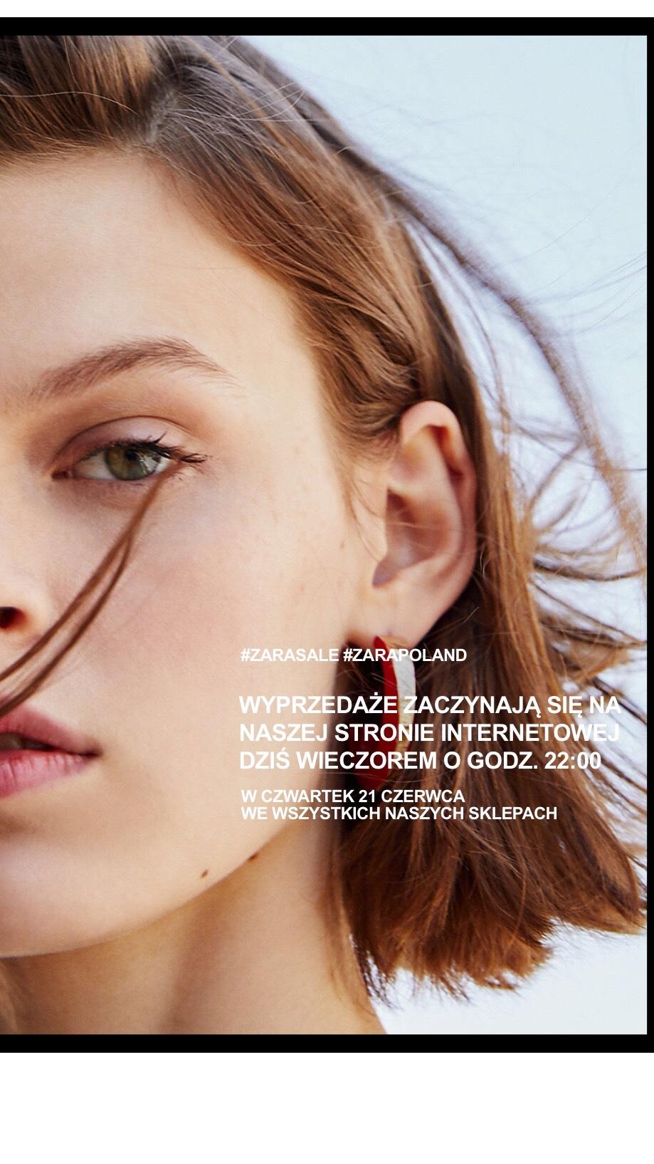 Letnia wyprzedaż w Zara do -70%