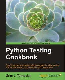E-book Python Testing Cookbook za darmo @ Pact Publishing