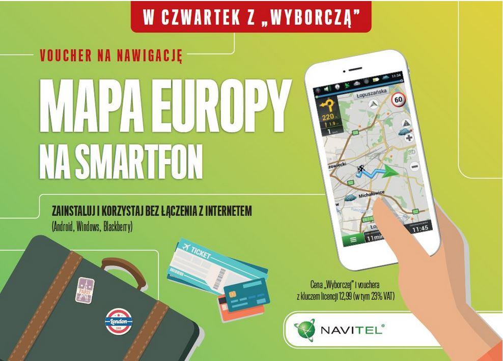 Voucher na nawigację Navitel (licencja z aktualizacjami 12 miesięcy)