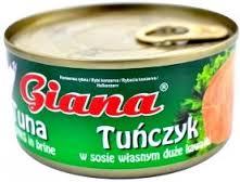 Tuńczyk Giana w kawałkach za 3,49zł @ Stokrotka
