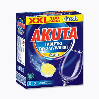 Tabletki do zmywarki 100szt Akuta @ Aldi / 20gr/szt