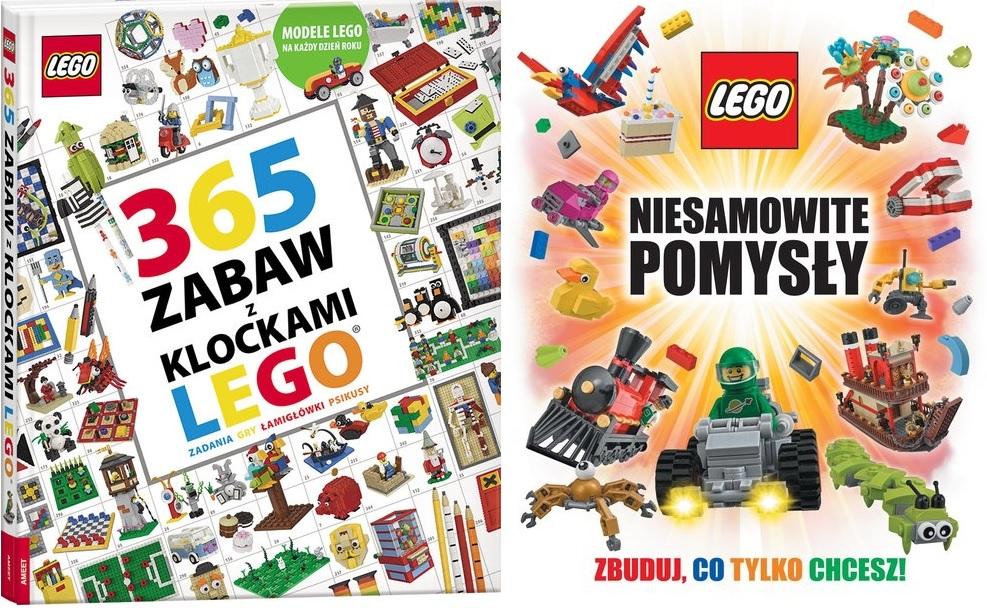 Książki Lego z rabatem 60%