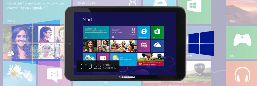 Tablet MODECOM FreeTAB 8025 za 299zł @ Sferis