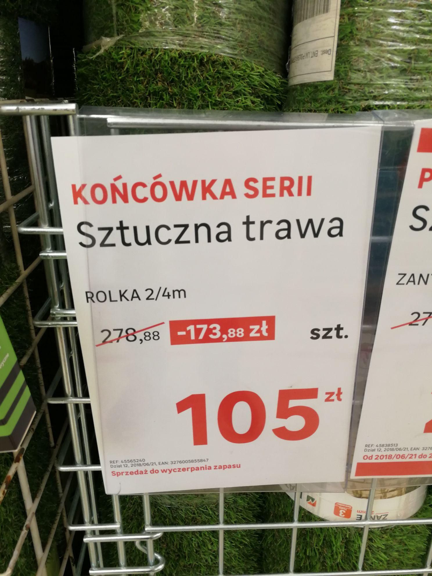 Sztuczna trawa premium, Leroy 2x4m