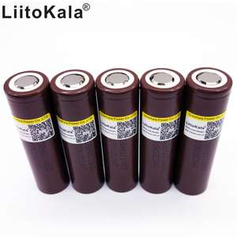 Akumulatorki LiitoKala LG HG2 18650 3000mAh, Prąd rozładowania 30A
