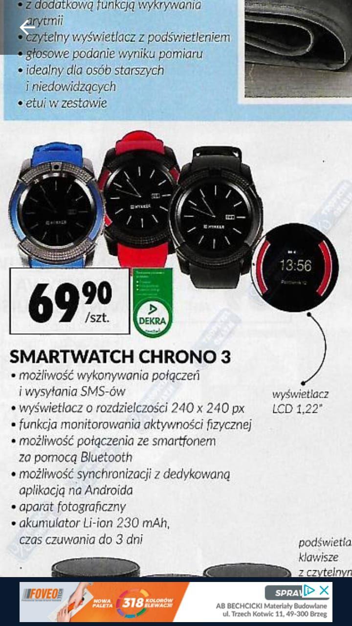 Smartwatch Chrono 3 Biedronka