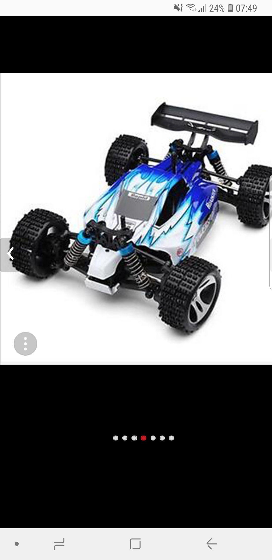 RC samochodów WL Toys A959 2,4G 4WD