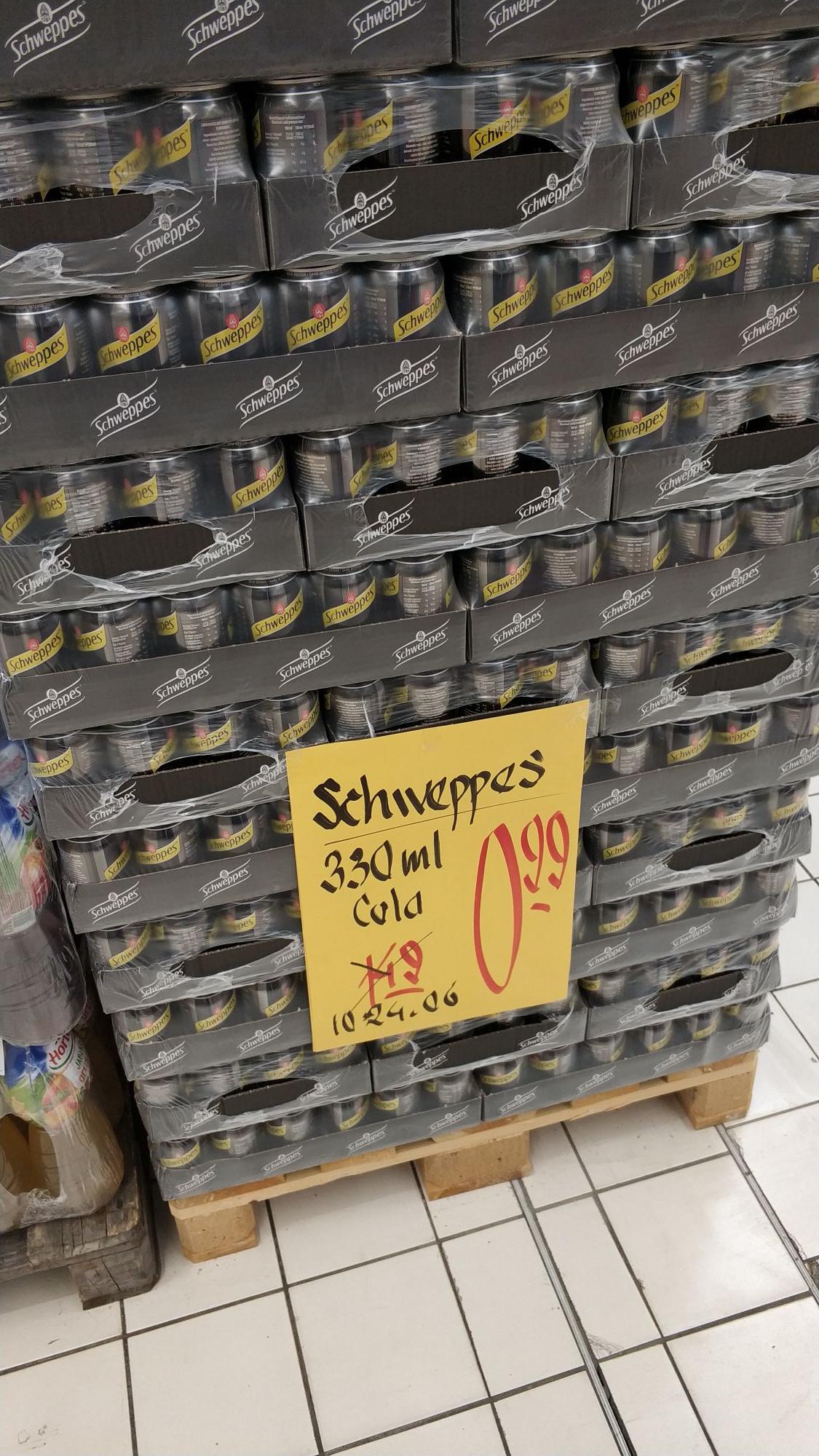 Schweppes Cola - E.Leclerc Rzeszów