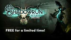 Shadowrun Returns Deluxe  Na steam Za darmo