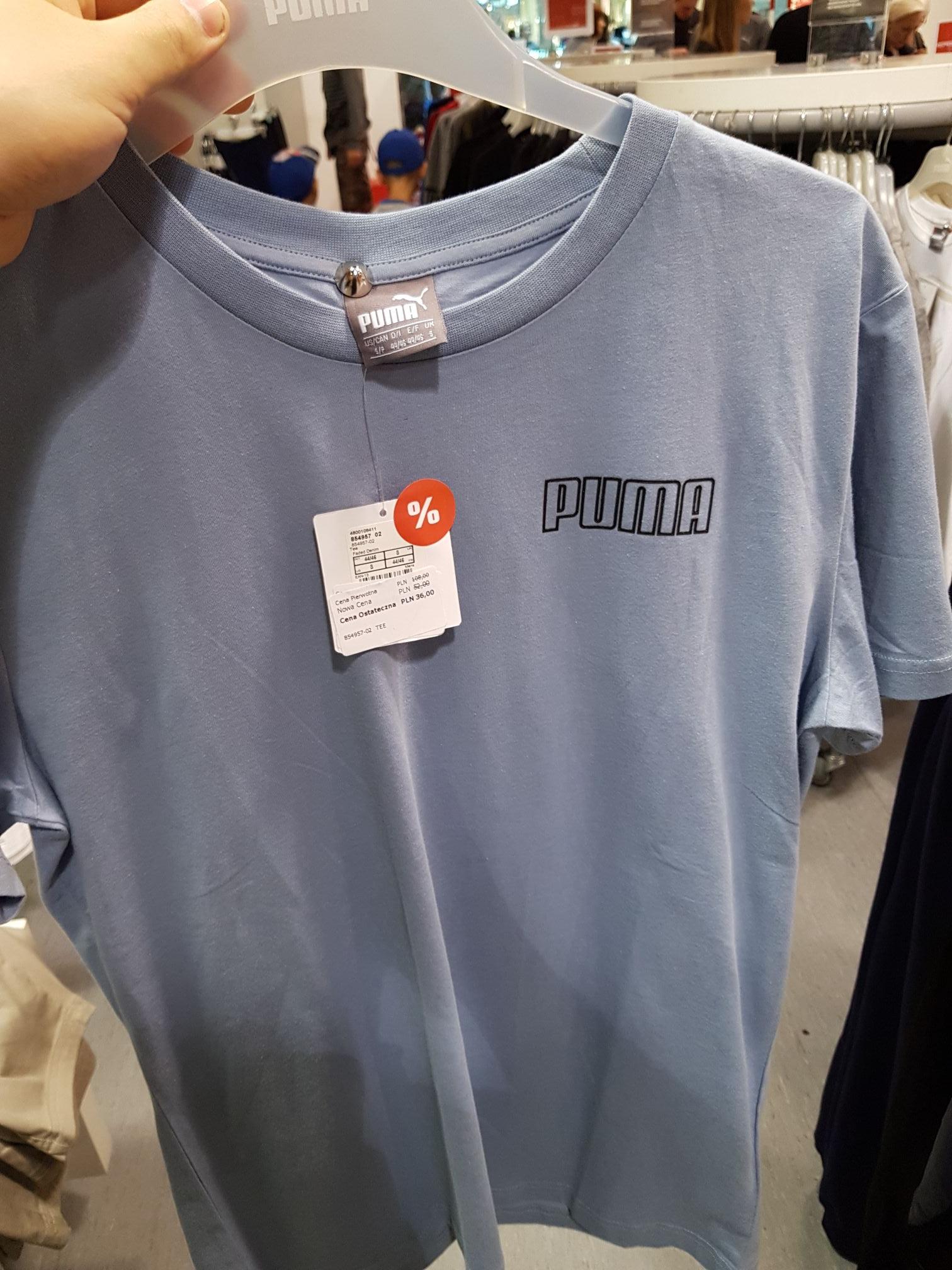 T-shirty Puma w Ursus Factory Warszawa