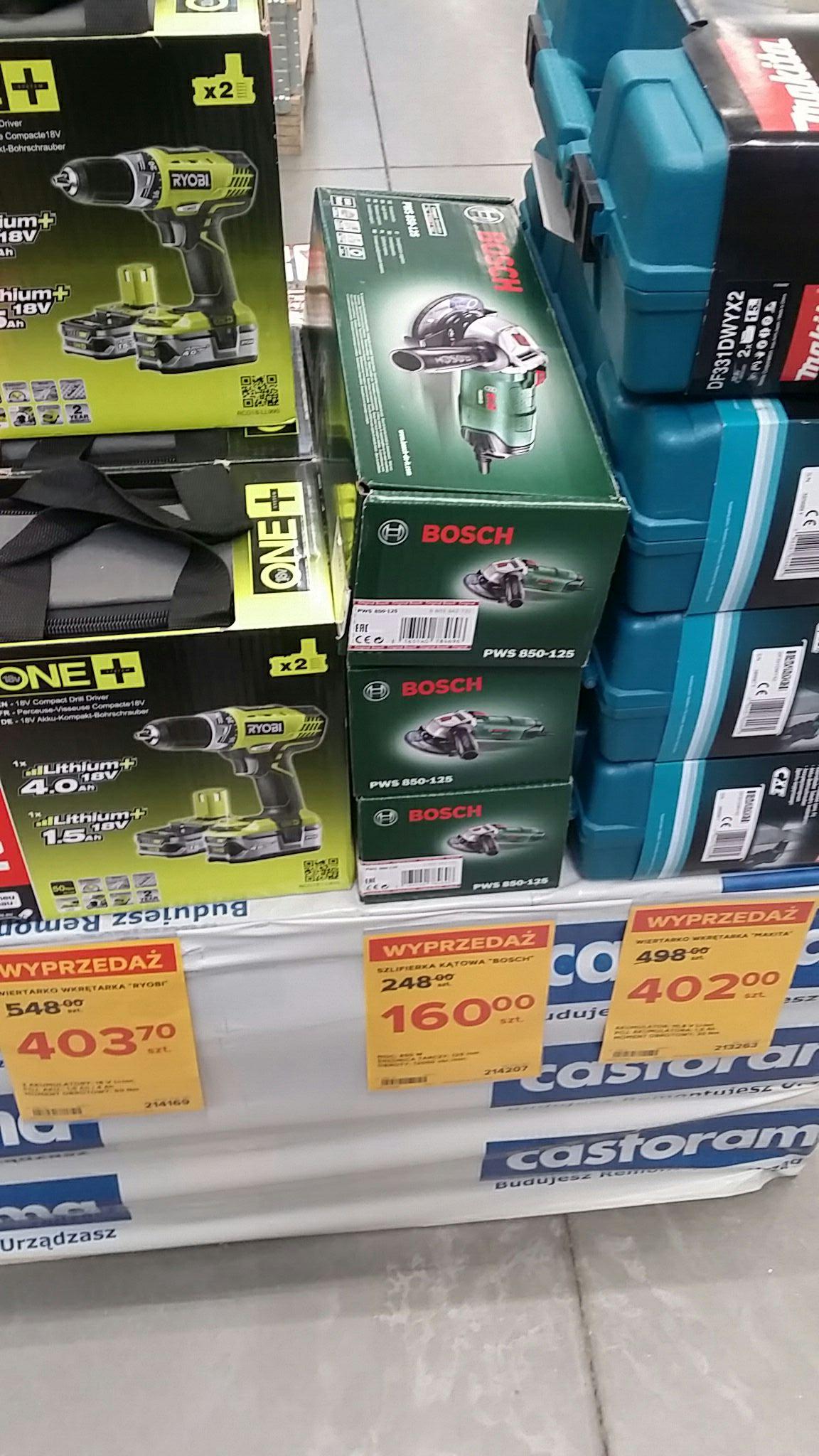 Szlifierka zielony Bosch PWS 850-125