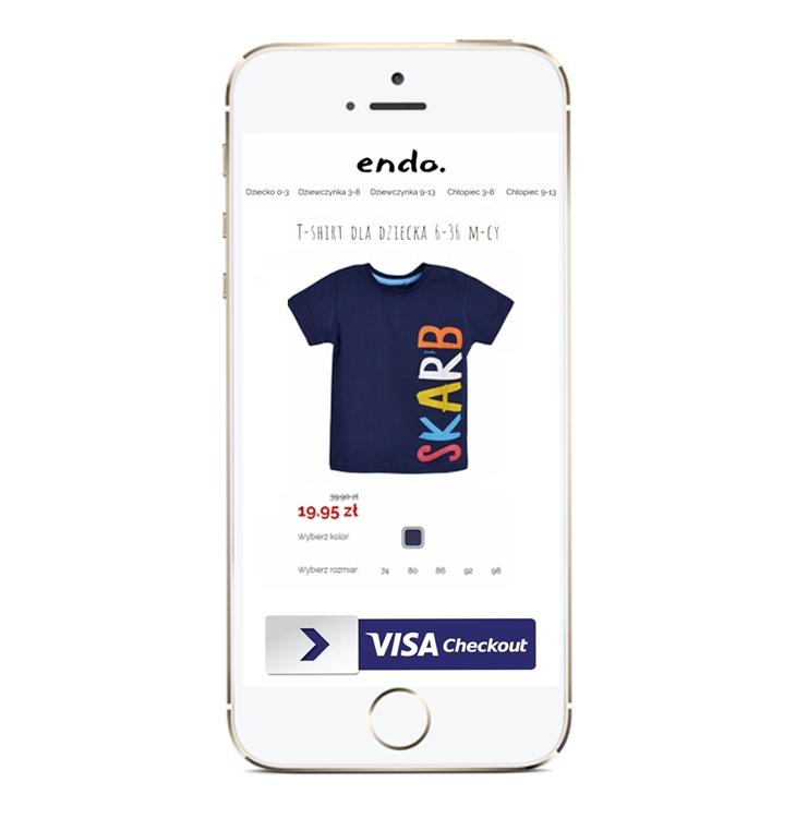 Wyprzedaż i dodatkowy rabat 30zł przy płatności z Visa Checkout (MWZ100zł) @ Endo