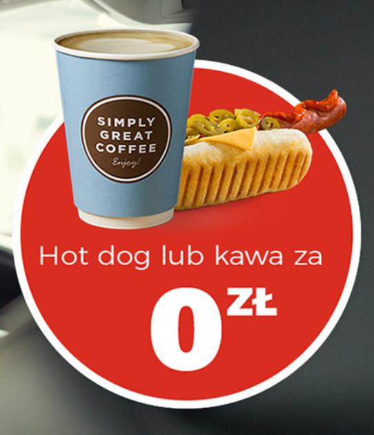 Kawa lub Hot Dog za darmo   Circle K