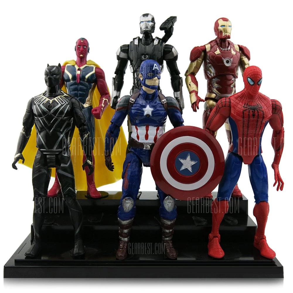 Wow figurki Avengers 6 sztuk! Dobra jakość według komenatrzy