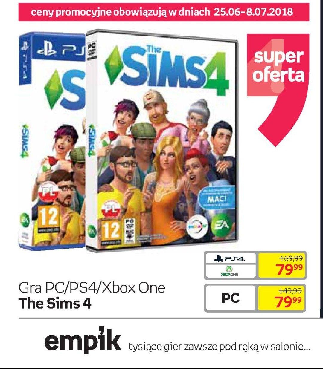 "[PC/PS4/Xbox] Gra ""The Sims 4"""