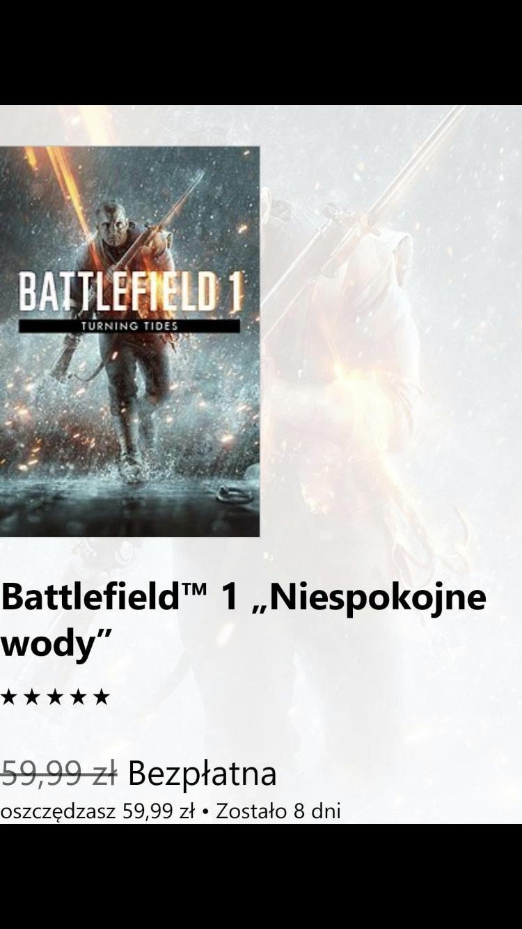 Battlefield 1 Niespokojne wody - ZA DARMO! [PS4, Origin]