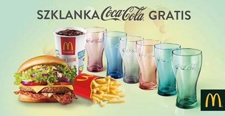 Szklanka Coca-Cola Gratis @ McDonald's