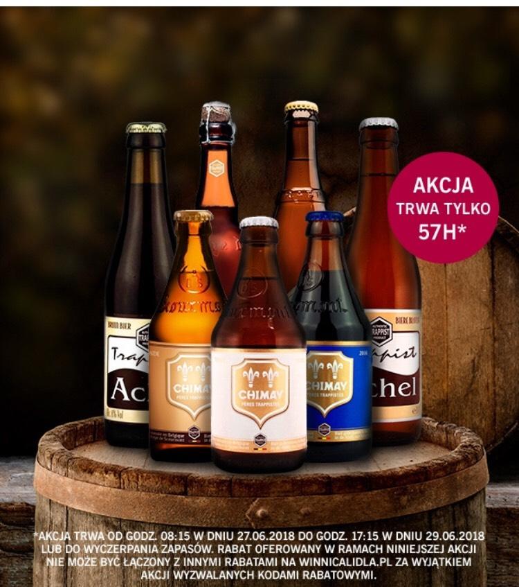 -20% na wszystkie piwa na winnicalidla.pl i dodatkowe 15% rabatu z kodem!