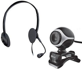 Zestaw TRUST Exis Chatpack, kamera + słuchawki EMPIK