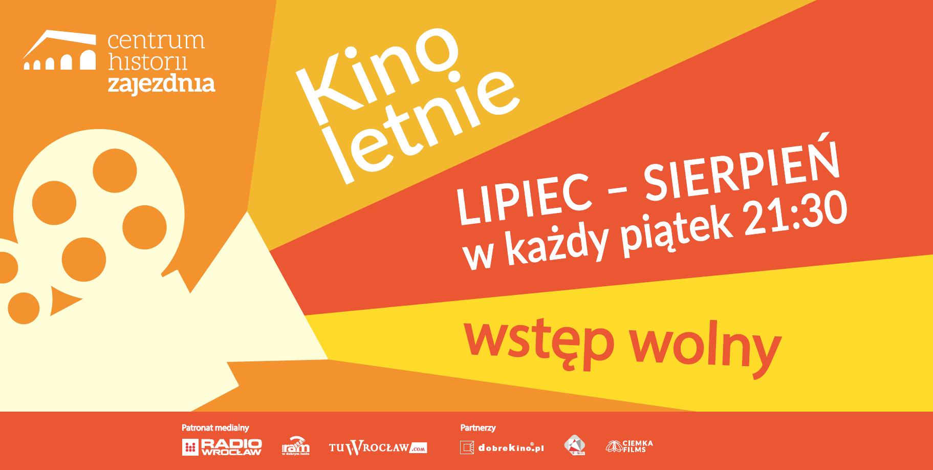 Darmowe kino letnie (Wrocław, Centrum Historii Zajezdnia)