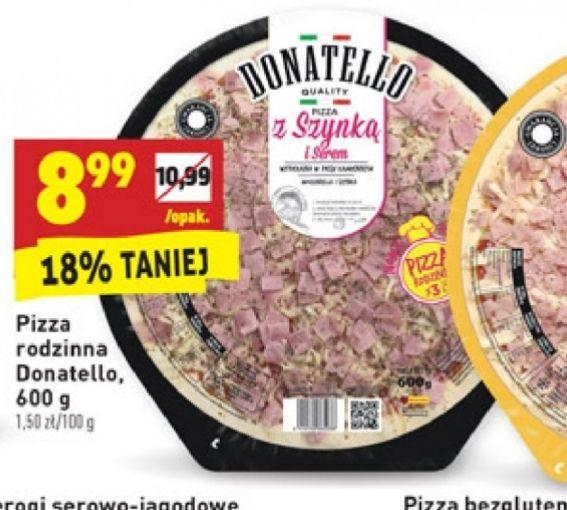 Pizza Donatello 600g biedronka