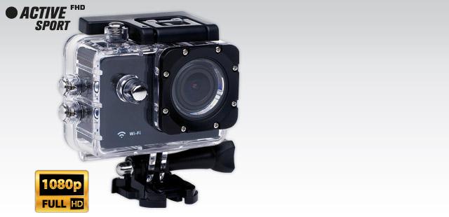 Kamera Sportowa (170 Angle, Full HD, WiFi) za 279zł @ Biedronka