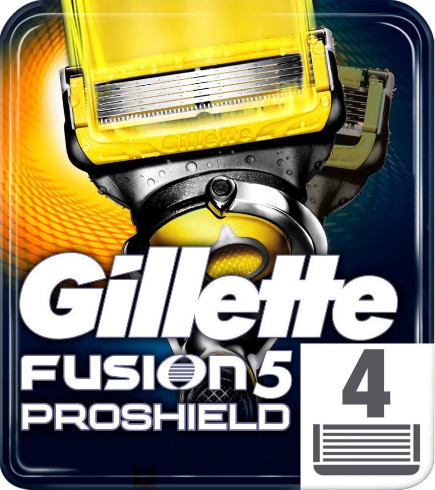 Głowice wymienne Gillette Fusion Proshield (4szt) taniej o 40% @ Mall
