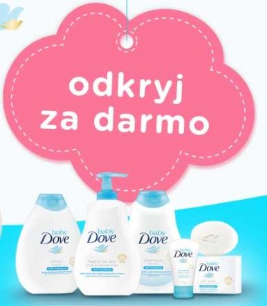 """""""Odkryj BabyDove"""" - za zakup w Rossmann kosmetyku BabyDove, zwrot pieniędzy"""